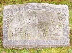 Irmgard M Anderson