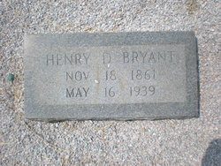 Henry D Bryant