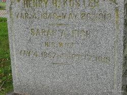 Sarah A. <i>Fish</i> Koster