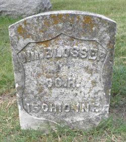 Pvt William Blosser