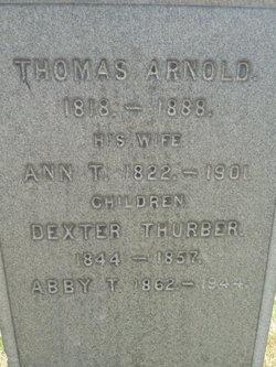 Dexter Thurber Arnold