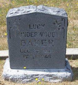 Lucy Underwood <i>Perkins</i> Baker
