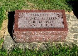 Frankie L Allen