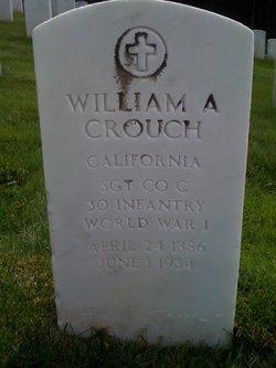 William Arthur Crouch