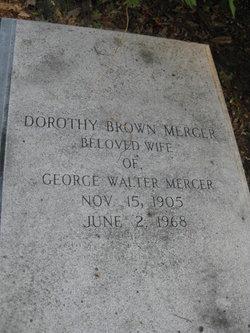 Dorothy <i>Brown</i> Mercer