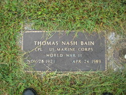 Thomas Nash Bain