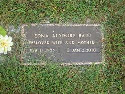 Edna <i>Alsdorf</i> Bain