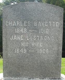 Jane L <i>Strong</i> Bayette
