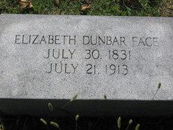 Elizabeth Widgeon <i>Dunbar</i> Face
