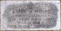 Lieut Annie M. Phelps