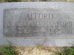 Janeshia Alabama <i>Sanford</i> Alford