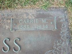 Carrie Maude <i>Robinson</i> Burruss