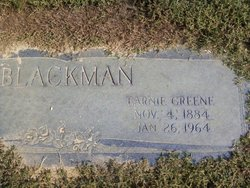 Earnest Greene Earnie Blackman