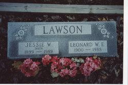 Jessie Winger <i>Carter</i> Buck, Lawson