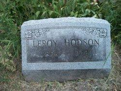 Leroy O Roy Hodson