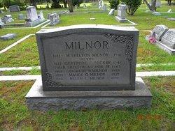 Gertrude Crawford <i>Becker</i> Milnor