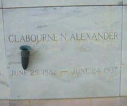 Claibourne Neal Alexander