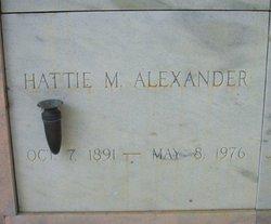 Harriet C Ma Alex <i>Moreland</i> Alexander