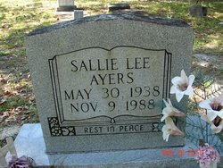 Sallie <i>Lee</i> Ayers