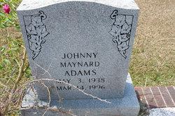 Johnny Maynard Adams