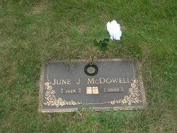 June Joan <i>Adams</i> McDowell