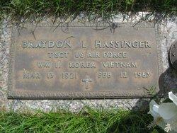 Sgt Braydon L Brad Hassinger