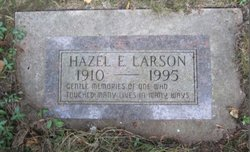 Hazel E Larson