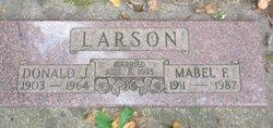 Mabel F Larson