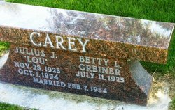 Julius J. Lou Carey
