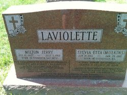 Sylvia Etta <i>Mulkins</i> Laviolette