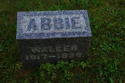 Abigail Abbie Walker