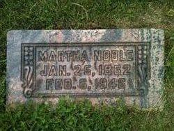 Martha Elizabeth Mattie <i>Noble</i> Wetherbee
