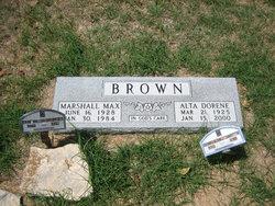 Alta Dorene <i>Miller</i> Brown