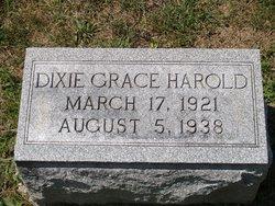 Dixie Grace <i>Harold</i> Baker