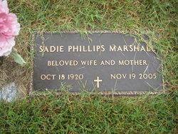 Sadie <i>Phillips</i> Marshall