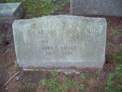 Mary J <i>Mills</i> Baylor