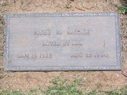 Ruby Mae <i>Burnett Pickens</i> McBee