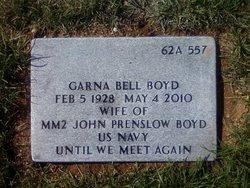 Garna Bell <i>McBee</i> Boyd
