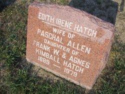 Edith Irene <i>Hatch</i> Allen