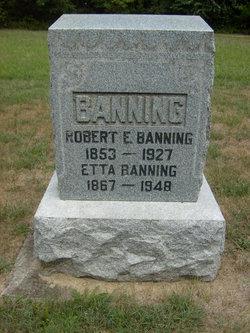 Robert E Banning
