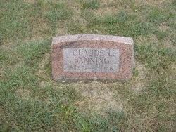 Claude L Banning