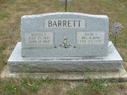 Elgin S Barrett