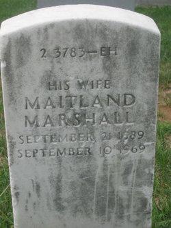 Maitland <i>Marshall</i> Knapp
