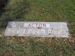 Juanita F Acton