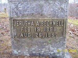 Jerusha Alice Aunt Duce <i>Evans</i> Becknell