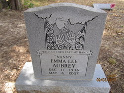 Emma Lee Nanny Aubrey