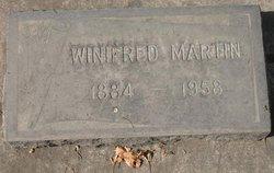 Winifred Winnie <i>Mcarthur</i> Martin