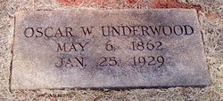 Oscar Wilder Underwood