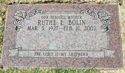 Ruthe Elaine <i>Herrod</i> Bolin