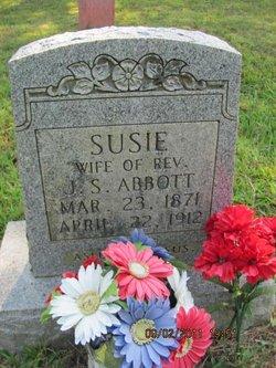Susanna Lee Susie <i>Spradlin</i> Abbott